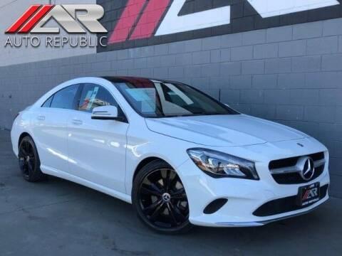 2019 Mercedes-Benz CLA for sale at Auto Republic Fullerton in Fullerton CA