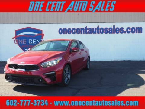 2019 Kia Forte for sale at One Cent Auto Sales in Glendale AZ