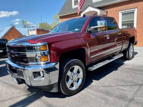 2016 Chevrolet Silverado 2500HD for sale at SETTLE'S CARS & TRUCKS in Flint Hill VA