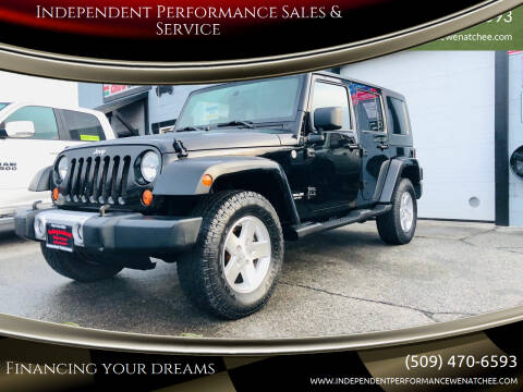 2008 Jeep Wrangler Unlimited for sale at Independent Performance Sales & Service in Wenatchee WA