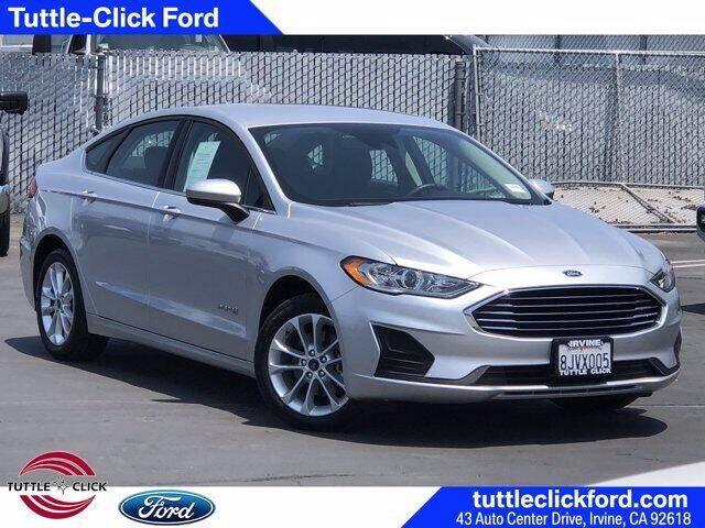 2019 Ford Fusion Hybrid for sale in Irvine, CA