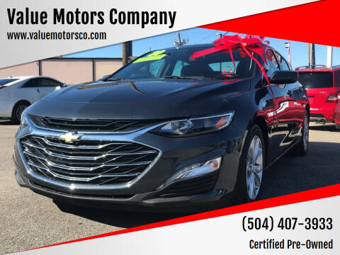 2020 Chevrolet Malibu for sale at Value Motors Company in Marrero LA