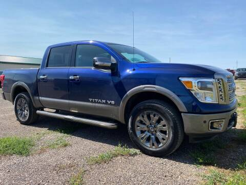 2019 Nissan Titan for sale at FAST LANE AUTOS in Spearfish SD