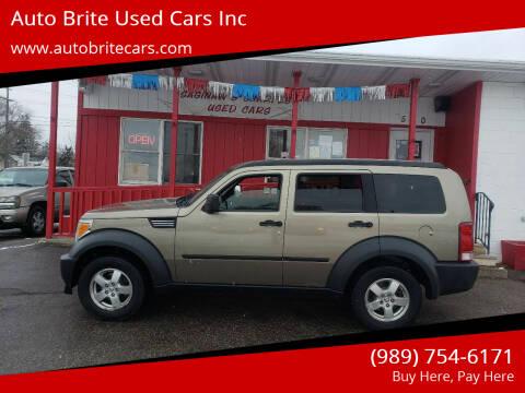 2007 Dodge Nitro for sale at Auto Brite Used Cars Inc in Saginaw MI