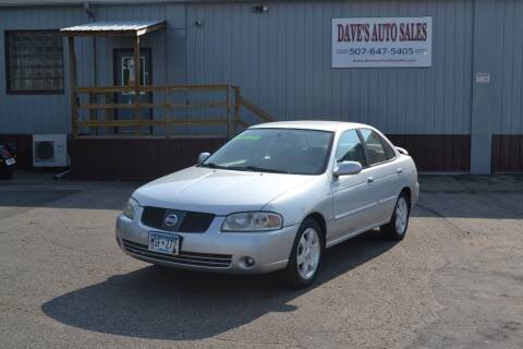 2006 Nissan Sentra for sale at Dave's Auto Sales in Winthrop MN