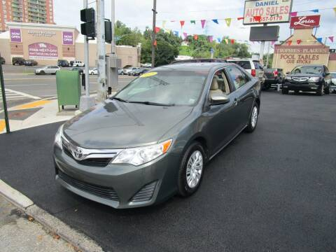 2013 Toyota Camry for sale at Daniel Auto Sales in Yonkers NY