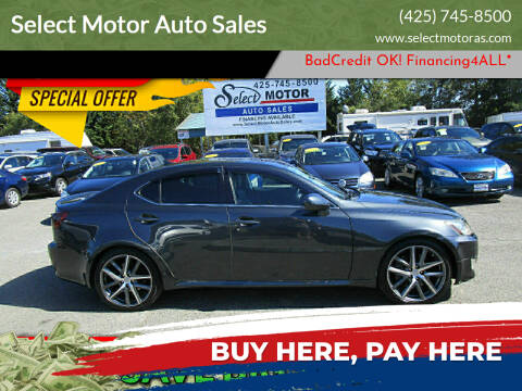 2007 Lexus IS 350 for sale at Select Motor Auto Sales in Lynnwood WA