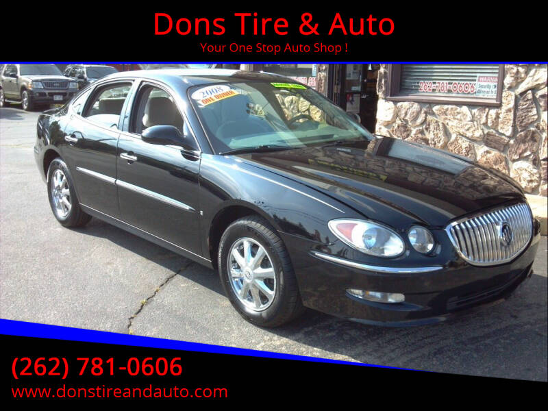 2008 Buick LaCrosse for sale at Dons Tire & Auto in Butler WI