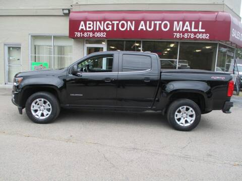 2016 Chevrolet Colorado for sale at Abington Auto Mall LLC in Abington MA