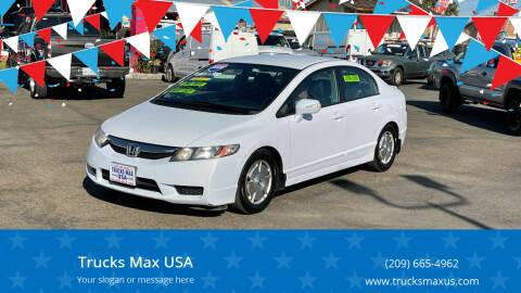 2009 Honda Civic for sale at Trucks Max USA in Manteca CA