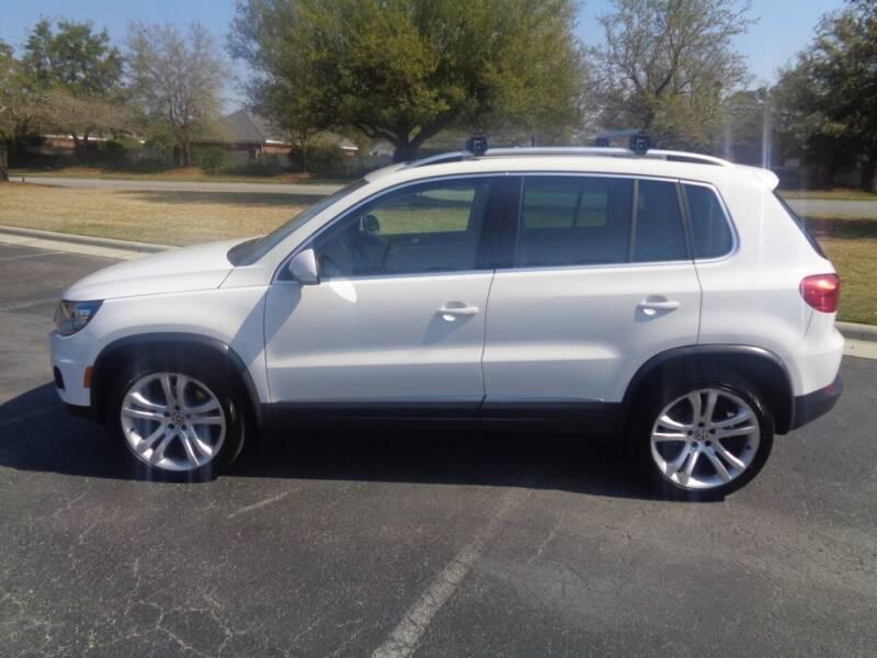 2013 Volkswagen Tiguan for sale at BALKCUM AUTO INC in Wilmington NC
