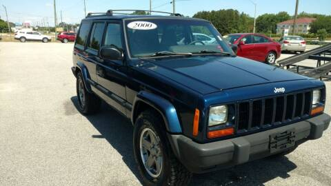 2000 Jeep Cherokee for sale at Kelly & Kelly Supermarket of Cars in Fayetteville NC