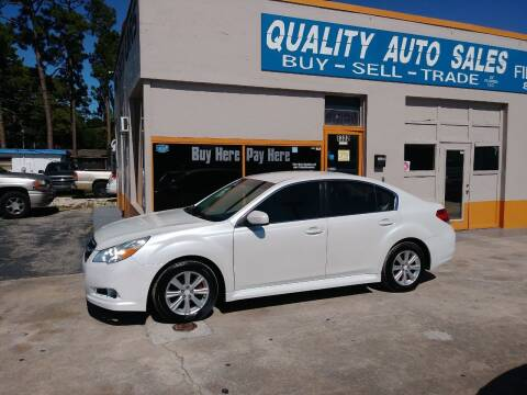 2011 Subaru Legacy for sale at QUALITY AUTO SALES OF FLORIDA in New Port Richey FL