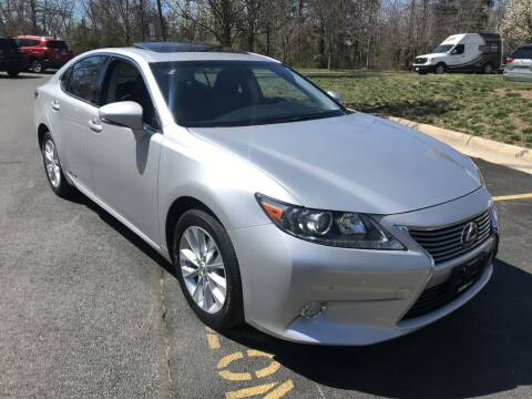 2013 Lexus ES 300h for sale at Dotcom Auto in Chantilly VA