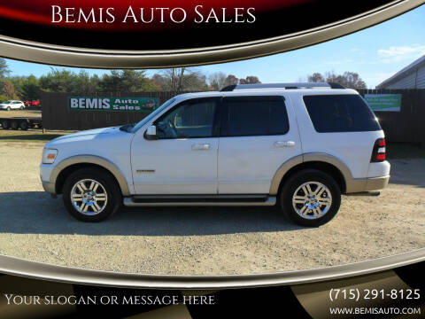 2006 Ford Explorer for sale at Bemis Auto Sales in Crivitz WI