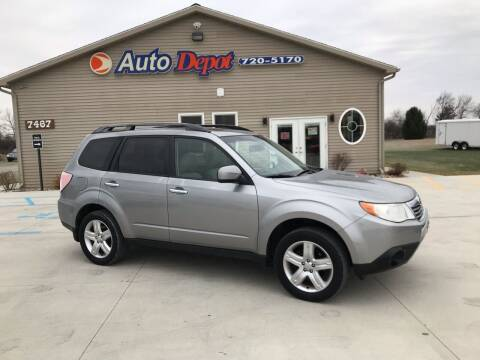 2009 Subaru Forester for sale at The Auto Depot in Mount Morris MI