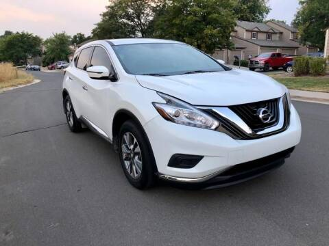 2015 Nissan Murano for sale at Red Rock's Autos in Denver CO