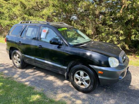 2006 Hyundai Santa Fe for sale at Kansas Car Finder in Valley Falls KS