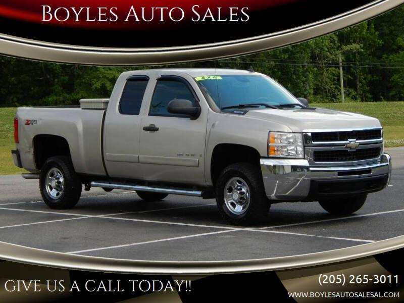 2008 Chevrolet Silverado 2500HD for sale at Boyles Auto Sales in Jasper AL