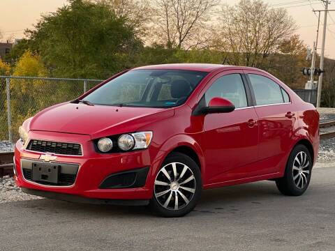 2013 Chevrolet Sonic for sale at Schaumburg Motor Cars in Schaumburg IL