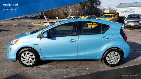 2015 Toyota Prius c for sale at Healey Auto in Rochester NH