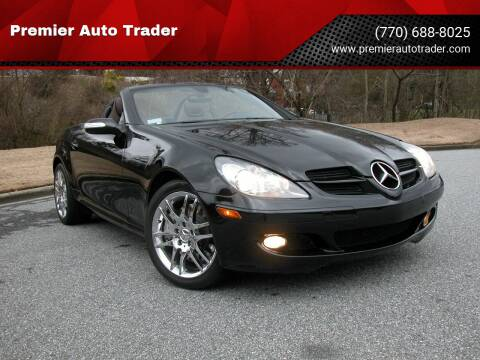2007 Mercedes-Benz SLK for sale at Premier Auto Trader in Alpharetta GA