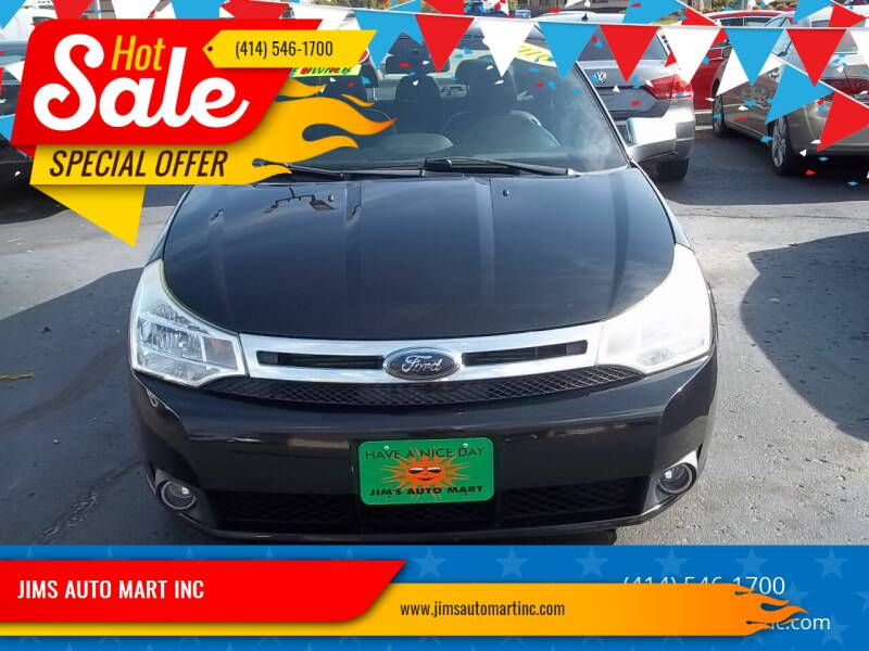 2010 Ford Focus for sale at JIMS AUTO MART INC in Milwaukee WI