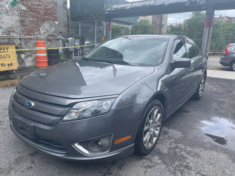 2010 Ford Fusion for sale at Gallery Auto Sales in Bronx NY