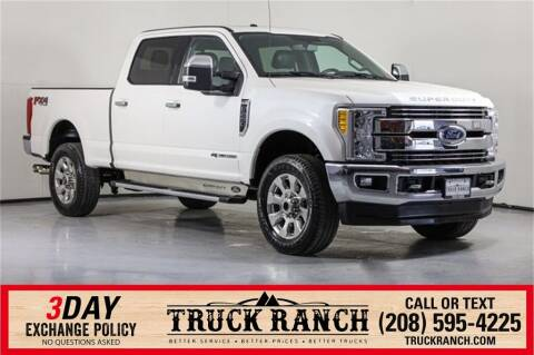 2017 Ford F-250 Super Duty for sale at Truck Ranch in Twin Falls ID
