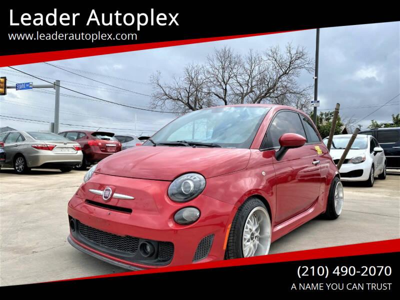 2013 FIAT 500 for sale at Leader Autoplex in San Antonio TX