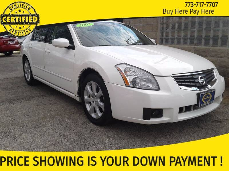 2007 Nissan Maxima for sale at AutoBank in Chicago IL