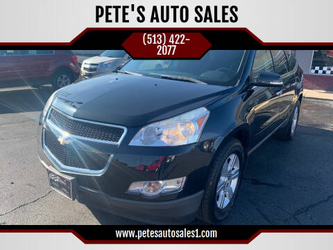 2011 Chevrolet Traverse for sale at PETE'S AUTO SALES LLC - Middletown in Middletown OH