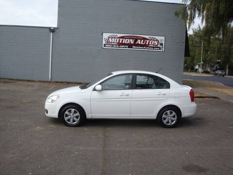 2011 Hyundai Accent for sale at Motion Autos in Longview WA