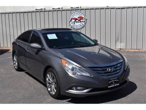 2012 Hyundai Sonata for sale at Chaparral Motors in Lubbock TX