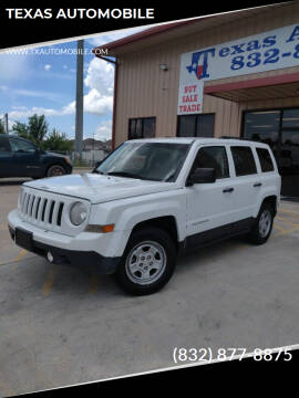 2014 Jeep Patriot for sale at TEXAS AUTOMOBILE in Houston TX