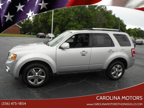2009 Ford Escape for sale at CAROLINA MOTORS in Thomasville NC
