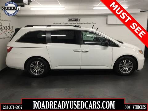 2011 Honda Odyssey for sale at Road Ready Used Cars in Ansonia CT