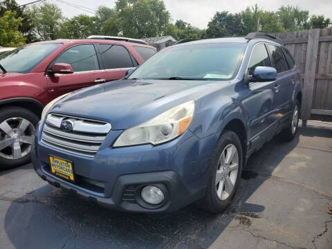 2013 Subaru Outback for sale at Appleton Motorcars Sales & Service in Appleton WI