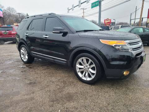 2014 Ford Explorer for sale at Johnny's Motor Cars in Toledo OH