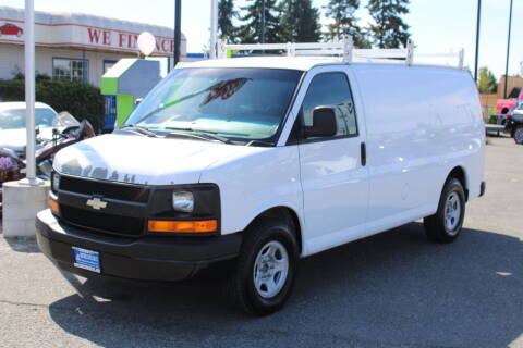 2008 Chevrolet Express Cargo for sale at BAYSIDE AUTO SALES in Everett WA