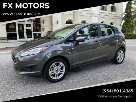2019 Ford Fiesta for sale at FX MOTORS in Margate FL
