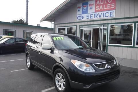 2007 Hyundai Veracruz for sale at 777 Auto Sales and Service in Tacoma WA