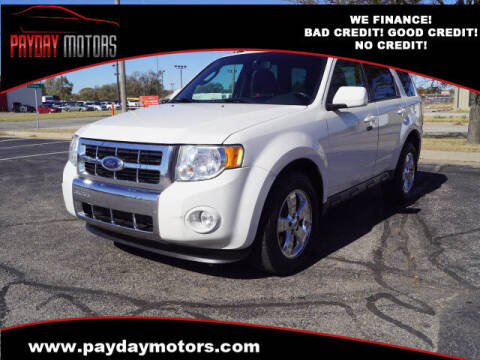 2009 Ford Escape for sale at Payday Motors in Wichita And Topeka KS