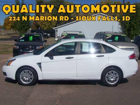 2008 Ford Focus for sale at Quality Automotive in Sioux Falls SD