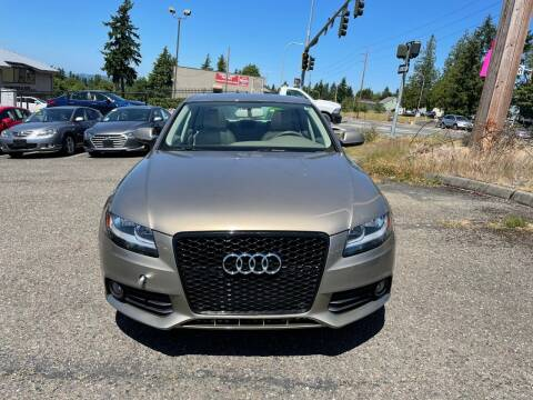 2010 Audi A4 for sale at KARMA AUTO SALES in Federal Way WA