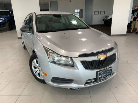 2012 Chevrolet Cruze for sale at Auto Mall of Springfield in Springfield IL