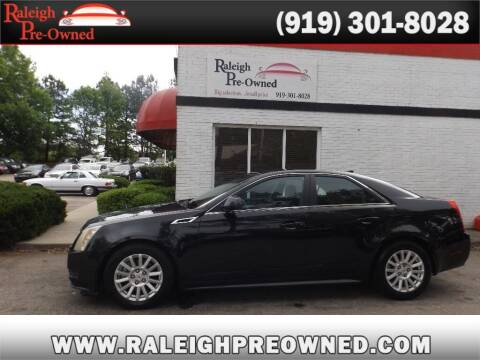 2013 Cadillac CTS for sale at Raleigh Pre-Owned in Raleigh NC