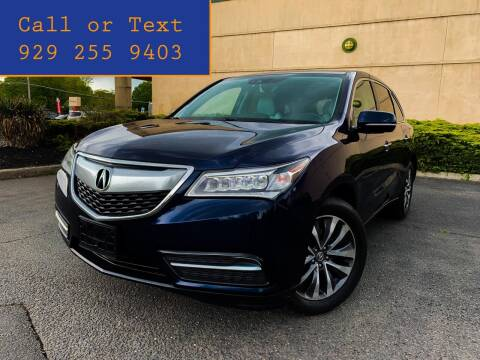 2016 Acura MDX for sale at Ultimate Motors in Port Monmouth NJ