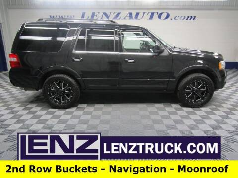 2015 Ford Expedition for sale at LENZ TRUCK CENTER in Fond Du Lac WI