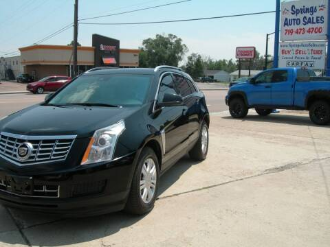 2014 Cadillac SRX for sale at Springs Auto Sales in Colorado Springs CO